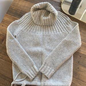 Soft grey Madewell sweater